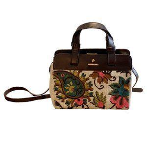 NWOT - Spartina 449 ELIZA Embroidered Handbag
